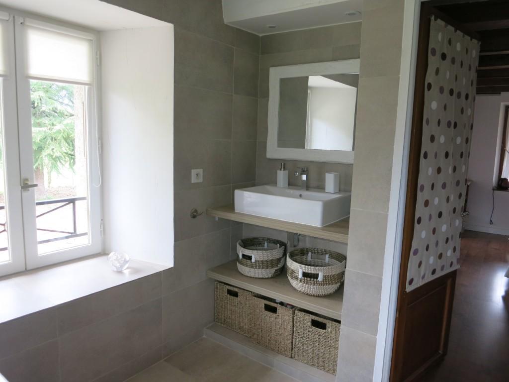 """Chambre """"Marmotte"""" : Salle de bains"""